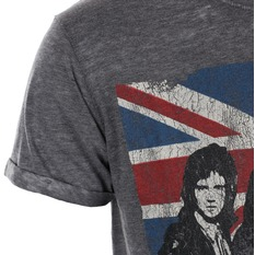 tricou stil metal bărbați Queen - Vintage Union Jack - ROCK OFF, ROCK OFF, Queen