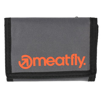 Portofel MEATFLY - Vega - Gray, Orange, MEATFLY