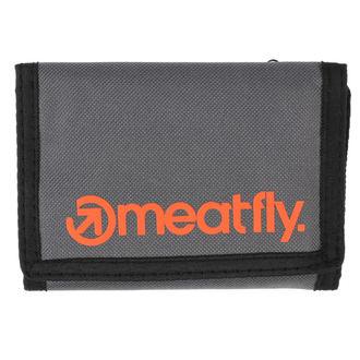 Portofel MEATFLY - Vega - Gray, Orange, MEATFLY
