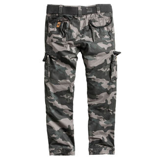 Pantaloni bărbătești SURPLUS - PREMIUM SLIMMY - BLACk CAMO, SURPLUS