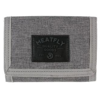 Portofel MEATFLY - Jules - Gray Heather, Black, MEATFLY