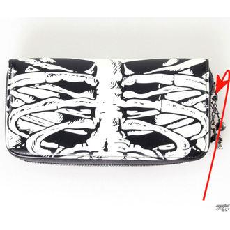 portofel BANNED - Glow In The Dark Skeleton - DETERIORATĂ, BANNED