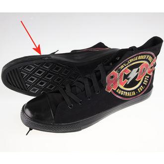 adidași cu platformă bărbați AC-DC - Sneakers - F.B.I., F.B.I., AC-DC