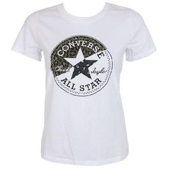 tricou de stradă femei - Spliced Leopard - CONVERSE, CONVERSE