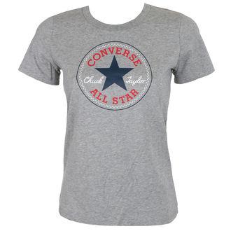 tricou de stradă femei - CORE SOLID CHUCK PATCH - CONVERSE, CONVERSE