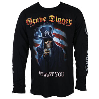 tricou stil metal bărbați Grave Digger - UNCLE SAM 2016 - Just Say Rock, Just Say Rock, Grave Digger