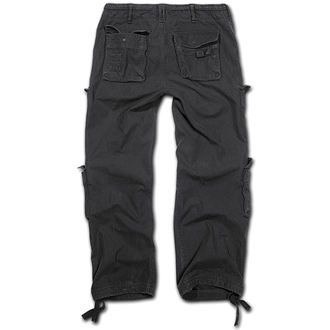 pantaloni bărbați Brandit - Pur Epocă Pantaloni Negru, BRANDIT