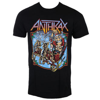 tricou stil metal bărbați Anthrax - Christmas Is Coming - ROCK OFF, ROCK OFF, Anthrax