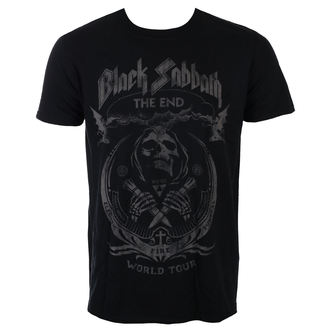 tricou stil metal bărbați Black Sabbath - The End Mushroom Cloud - ROCK OFF, ROCK OFF, Black Sabbath