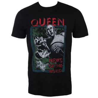 tricou stil metal bărbați Queen - News of the World - ROCK OFF, ROCK OFF, Queen