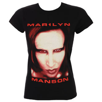 tricou stil metal femei Marilyn Manson - Bigger Than Satan - ROCK OFF, ROCK OFF, Marilyn Manson