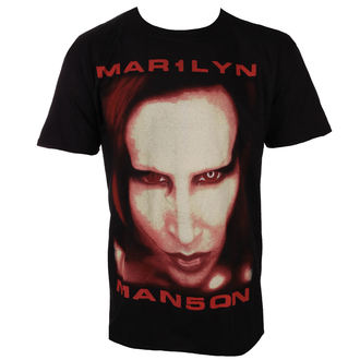 tricou stil metal bărbați Marilyn Manson - Bigger Than Satan - ROCK OFF, ROCK OFF, Marilyn Manson