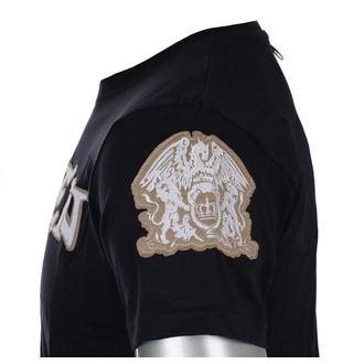 tricou stil metal bărbați Queen - Logo & Crest - ROCK OFF