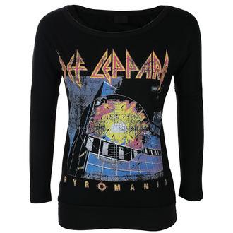 tricou stil metal femei Def Leppard - VINTAGE PYROMANIA - LIVE NATION, LIVE NATION, Def Leppard