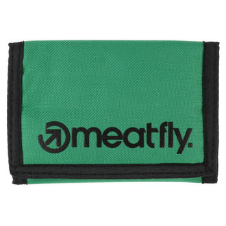 Portofel MEATFLY - Vega - Green, Black, MEATFLY