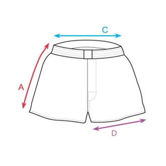 Boxeri pantaloni scurți bărbaţiHORSEFEATHERS - APOLLO - ALBASTRU, HORSEFEATHERS