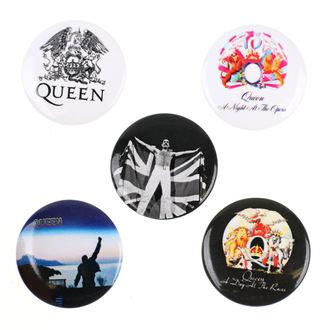 Insigne cu bolț de prindere Queen - RAZAMATAZ, RAZAMATAZ, Queen