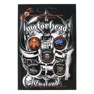 Insigne cu bolț de prindere Motörhead - RAZAMATAZ, RAZAMATAZ, Motörhead