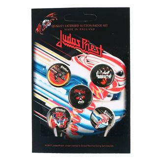 Insigne cu bolț de prindere Judas Priest - RAZAMATAZ, RAZAMATAZ, Judas Priest