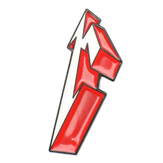Insingă Metallica - 3D M, Metallica