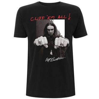 tricou stil metal bărbați Metallica - Cliff Burton -, Metallica
