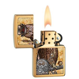 Brichetă ZIPPO - STEAMPUNK OWL, ZIPPO