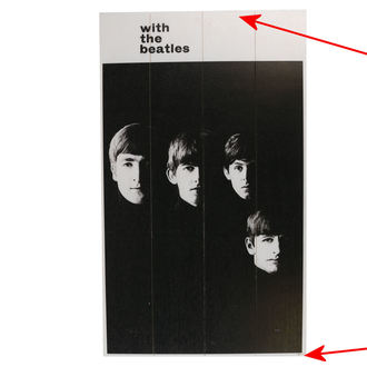 Imagine pe Lemn The Beatles - A Hard Days Night - PYRAMID POSTERS - DETERIORATĂ, PYRAMID POSTERS, Beatles
