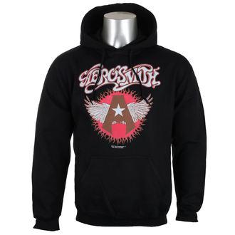 hanorac cu glugă bărbați Aerosmith - Flying A Logo - HYBRIS, HYBRIS, Aerosmith