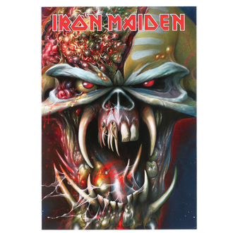 Felicitare Iron Maiden - ROCK OFF, ROCK OFF, Iron Maiden