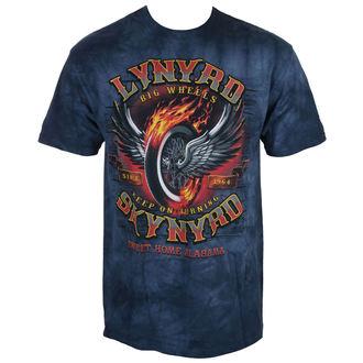 tricou stil metal bărbați Lynyrd Skynyrd - Big Wheels - LIQUID BLUE, LIQUID BLUE, Lynyrd Skynyrd
