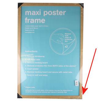 cadru la poster (61x91,5 cm) - Oak - GB Posters - DETERIORATĂ, GB posters