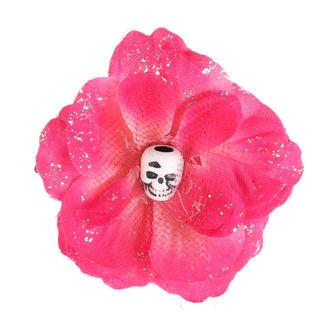 Clamă de Păr Skull - Little Pink