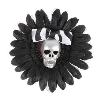 Clamă de Păr Skull - Black / Silver