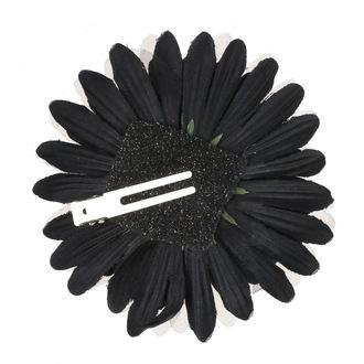 Clamă de Păr Skull - Black / Brown Bow