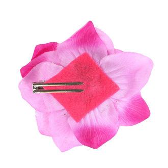 Clamă de Păr Skull - Pink / Black