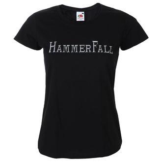 tricou stil metal femei Hammerfall - Logo - NAPALM RECORDS, NAPALM RECORDS, Hammerfall
