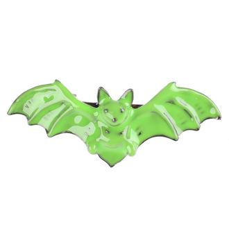 Clamă de Păr SOURPUSS - Bat - Green