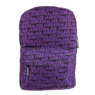 Rucsac BLACK SABBATH - LOGO ALLOVER - CLASSIC, Black Sabbath