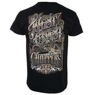 tricou bărbați - LOCK UP - West Coast Choppers, West Coast Choppers