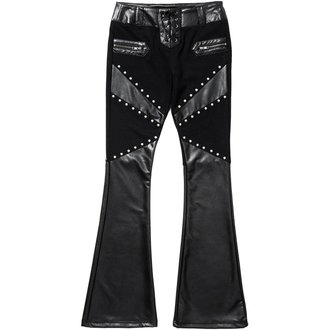 Pantaloni damă KILLSTAR - FREYA - BLACK, KILLSTAR