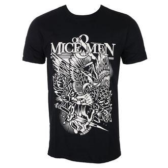 tricou stil metal bărbați Of Mice & Men - Eagle - ROCK OFF, ROCK OFF, Of Mice & Men