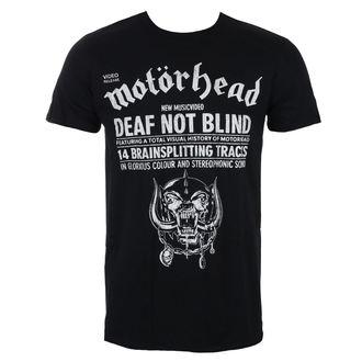 tricou stil metal bărbați Motörhead - Deaf Not Blind - ROCK OFF, ROCK OFF, Motörhead