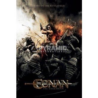 poster Barbar Conan - Battlefield - PYRAMID POSTERS - Neîmpachetată, PYRAMID POSTERS