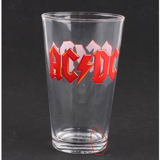 sticlă AC / DC - Logo - PGAC1 - DETERIORATĂ, AC-DC