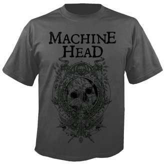 tricou stil metal bărbați Machine Head - Clock GREY - NUCLEAR BLAST, NUCLEAR BLAST, Machine Head