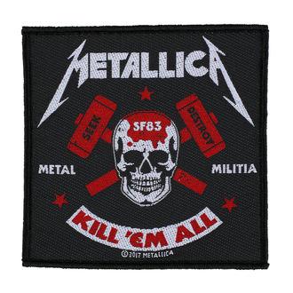 Petic METALLICA - METAL MILITIA - RAZAMATAZ, RAZAMATAZ, Metallica