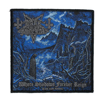 Petic DARK FUNERAL - WHERE SHADOWS FOREVER REIGN - RAZAMATAZ, RAZAMATAZ, Dark Funeral