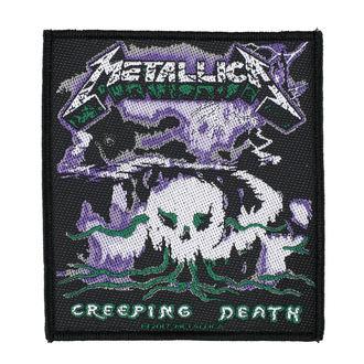 Petic METALLICA - CREEPING DEATH - RAZAMATAZ, RAZAMATAZ, Metallica