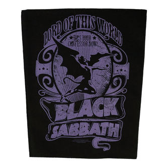 Petic mare BLACK SABBATH - LORD OF THIS WORLD - RAZAMATAZ, RAZAMATAZ, Black Sabbath