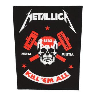 Petic mare METALLICA - METAL MILITIA - RAZAMATAZ, RAZAMATAZ, Metallica